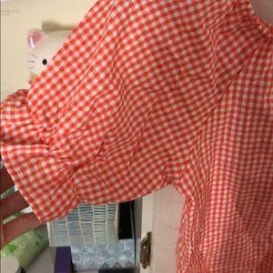 4e9508e371da Nordstrom Dresses - Nwot kawaii gingham set off shoulder top + shorts